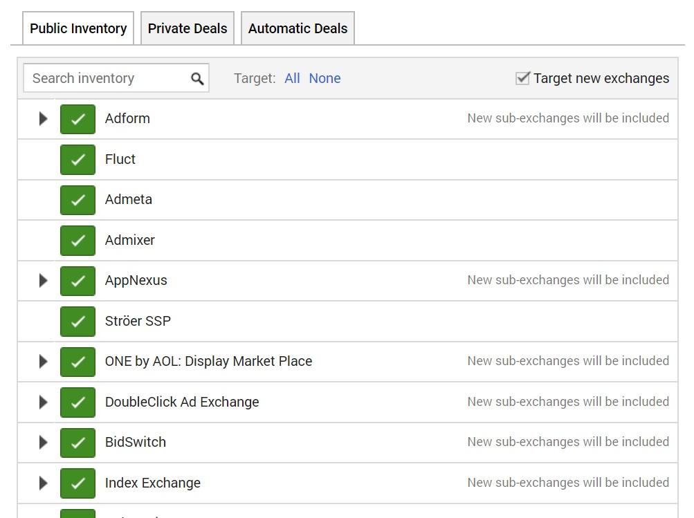 doubleclick bid manager public inventory