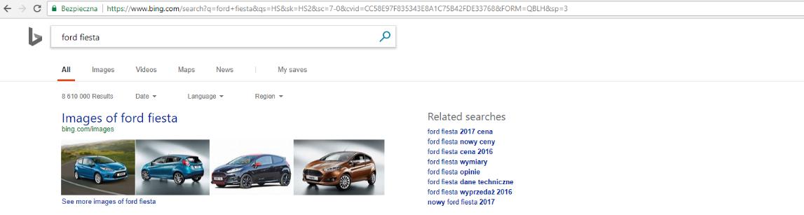 podpowiedzi wyszukiwanych haseł