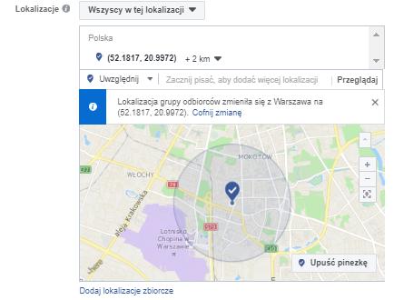 Targetowanie na Lokalizację