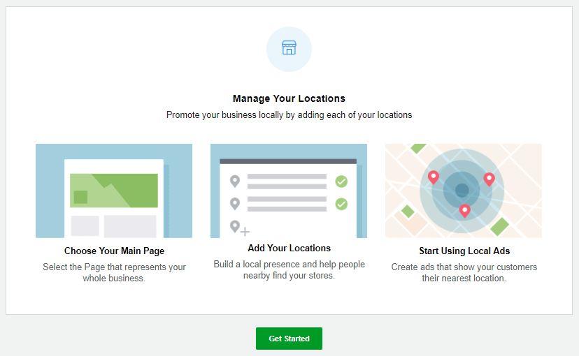 Lokalizacje firmy w menedżerze firmy