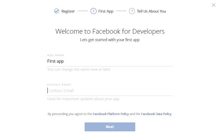 promocja aplikacji facebook for developers