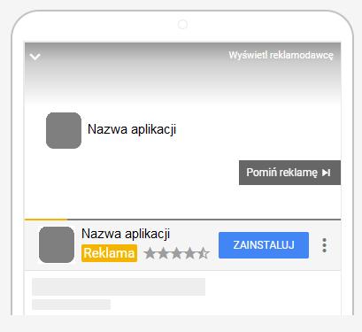 reklama aplikacji na youtube