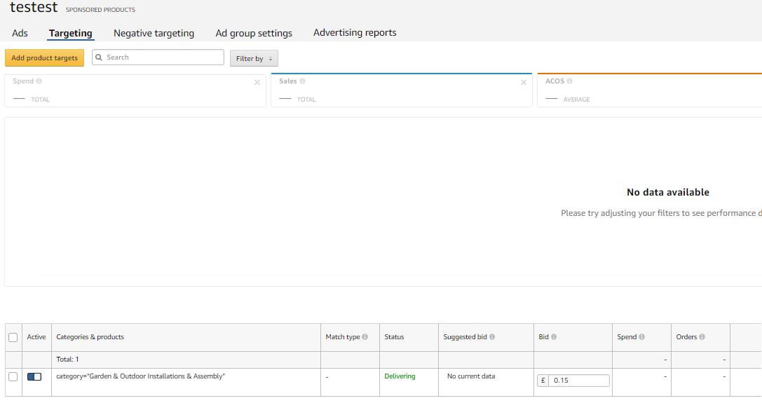 targetowanie amazon ads