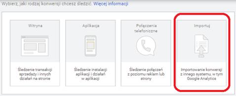 Konfiguracja śledzenia konwersji offline