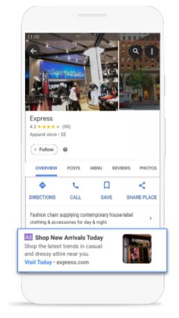 Google Moja Firma - reklama lokalna