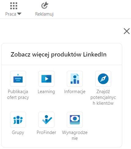 Publikacja oferty pracy na LinkedIn